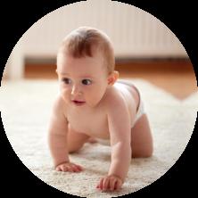 infant crawling