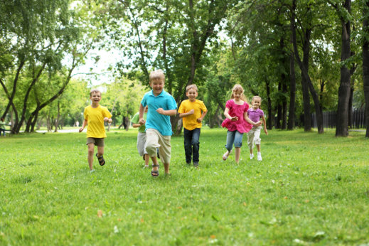 Autumn-Themed Gross Motor Activities
